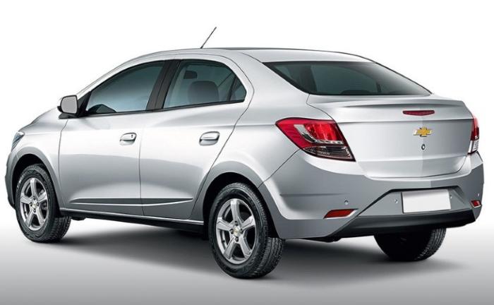 Оновлений Chevrolet Prisma