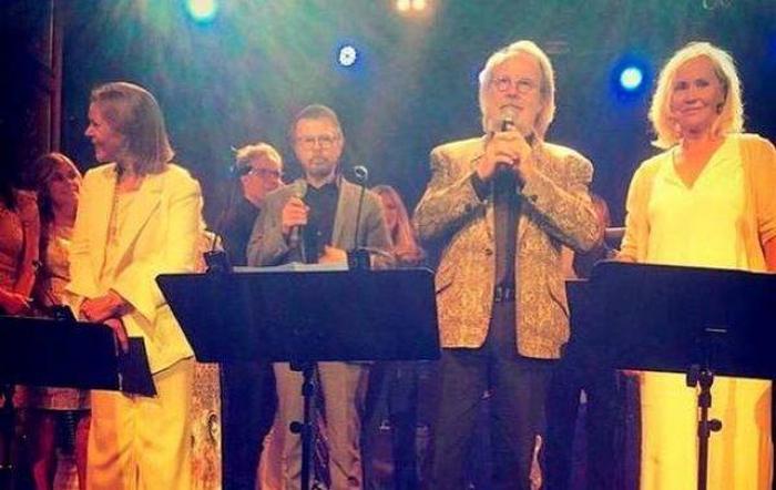ABBA возз'єдналися на честь 50-річчя гурту