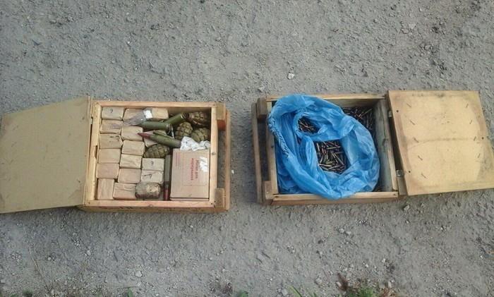 сховище з боєприпасами