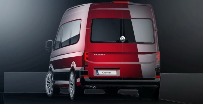 Volkswagen Crafter ескіз