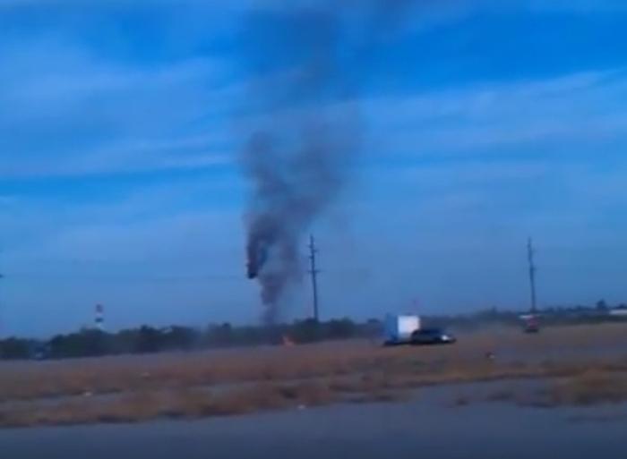 падіння повітряної кулі в Техасі