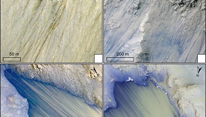 сліди води на марсі