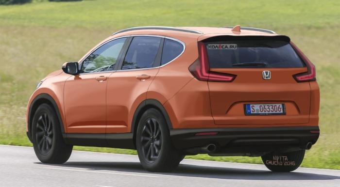 Honda CR-V рендер