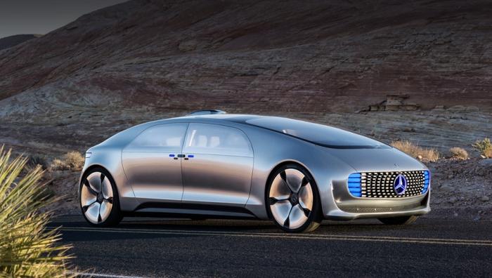 Mercedes електрокар