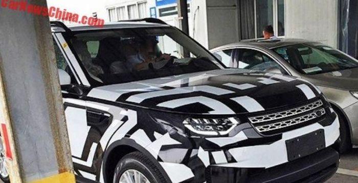 Land Rover Discovery на тестах в китаї