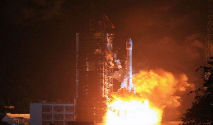 запуск ракети китай