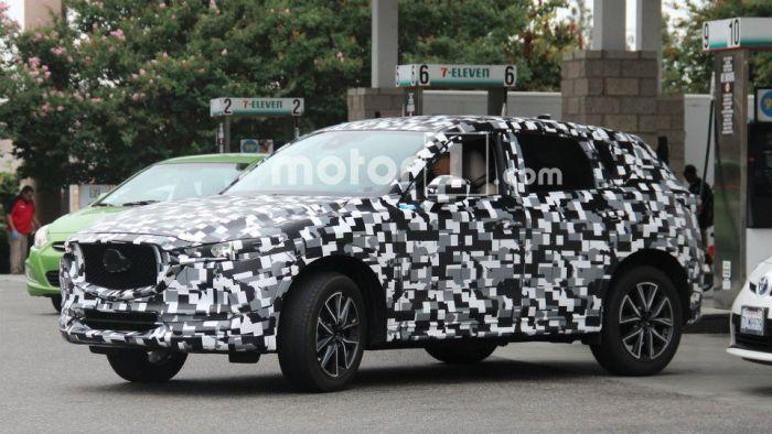 Mazda CX-5 на тестах