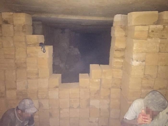 незаконний видобуток каменю-вапняку