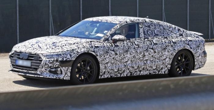 Audi A7 Sportback на тестах