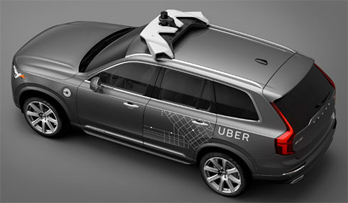 Volvo і Uber