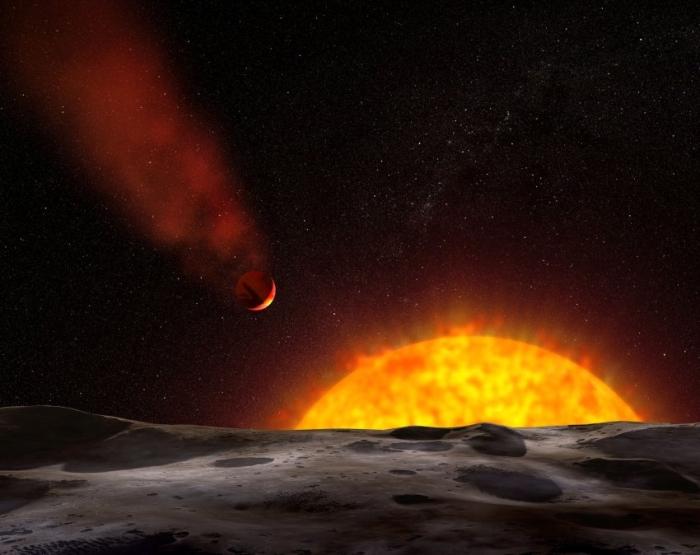 киснева атмосфера на схожій на венеру планеті