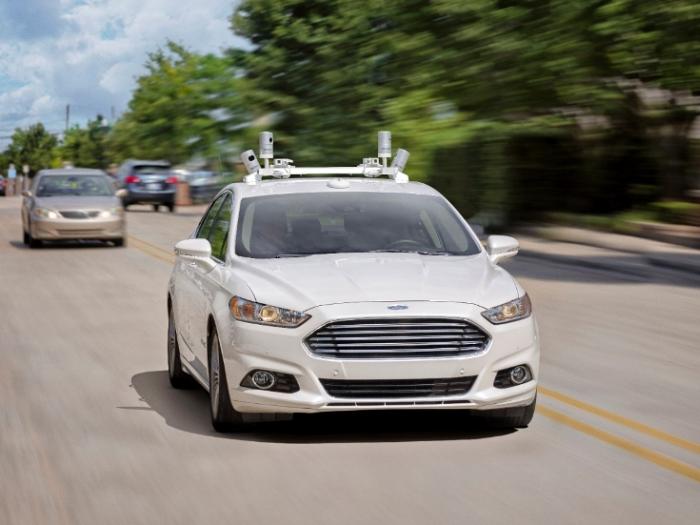 безпілотний автомобіль Ford