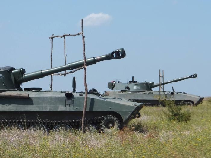 миколаївські артилеристи стрільби