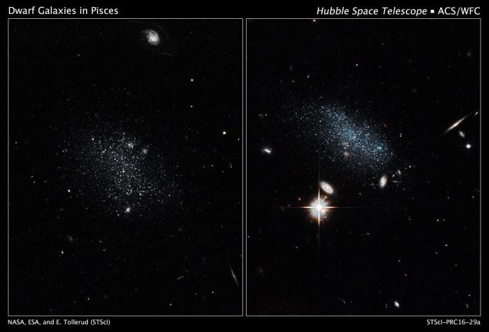 Hubble фото галактик