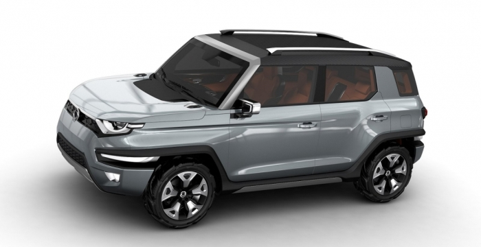 SsangYong XAV Adventure Concept