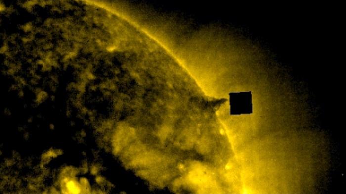 куб біля сонця