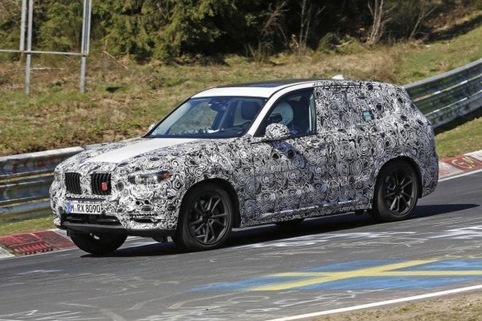 BMW X3 2018 на Нюрбургринзі