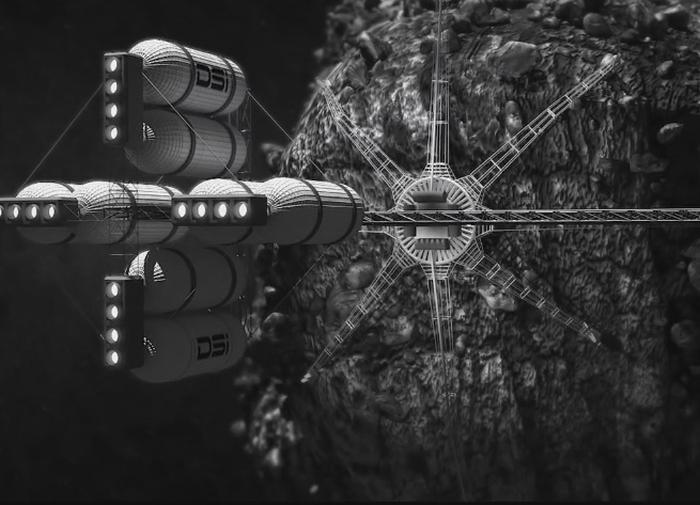 добувати ресурси з астероїдів