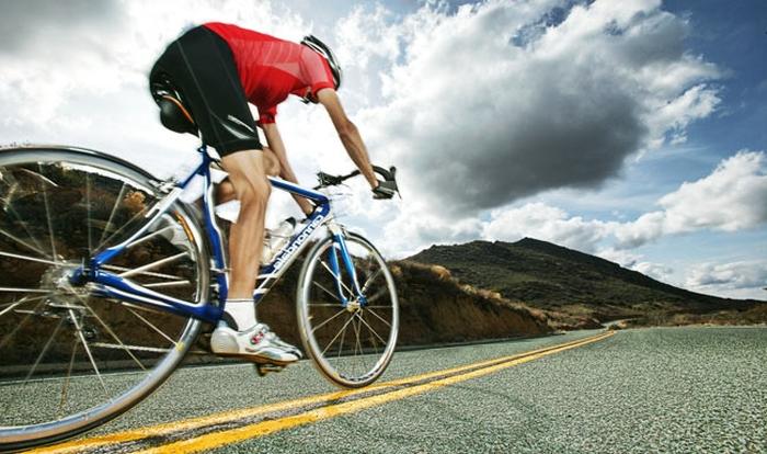 їзда на велосипеді