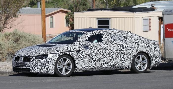 Volkswagen Passat CC на тестах