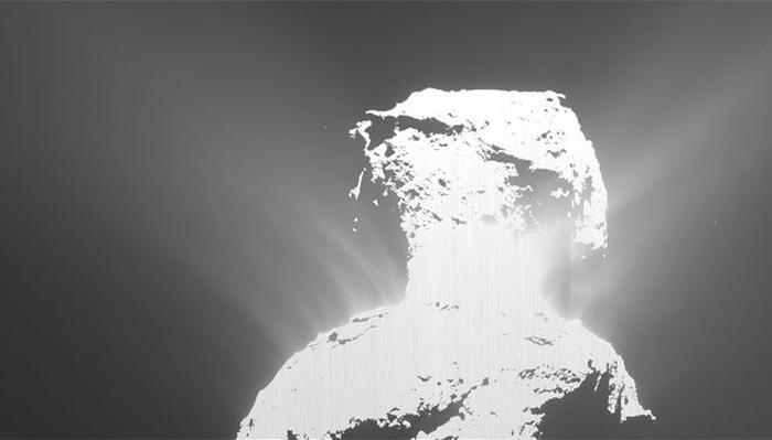 спалах на кометі Чурюмова - Герасименко