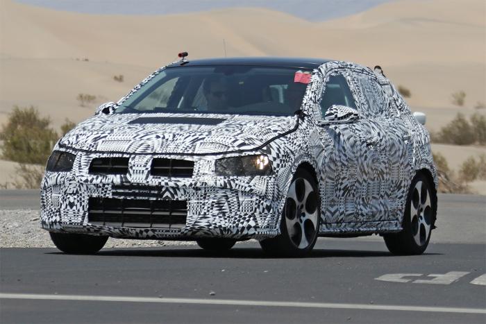 Volkswagen Polo на тестах