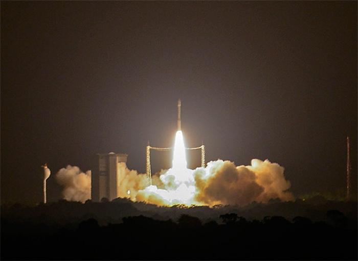 старт ракети-носія Вега