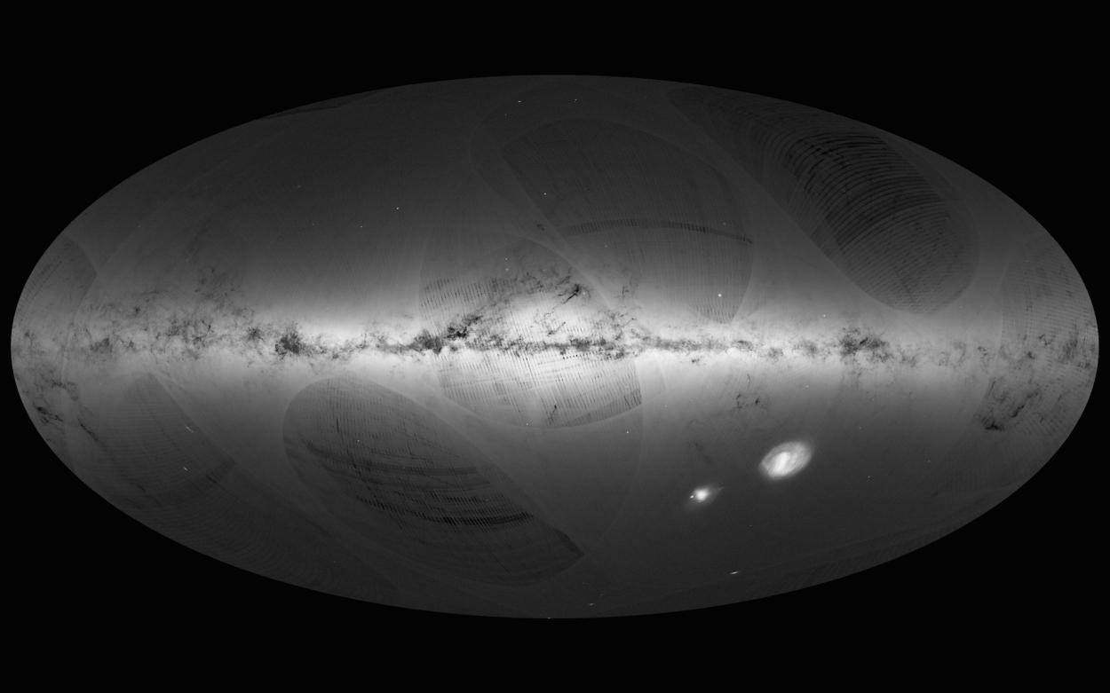 карта Чумацького Шляху