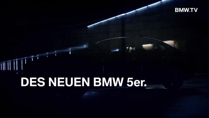 BMW 5 Series тизер