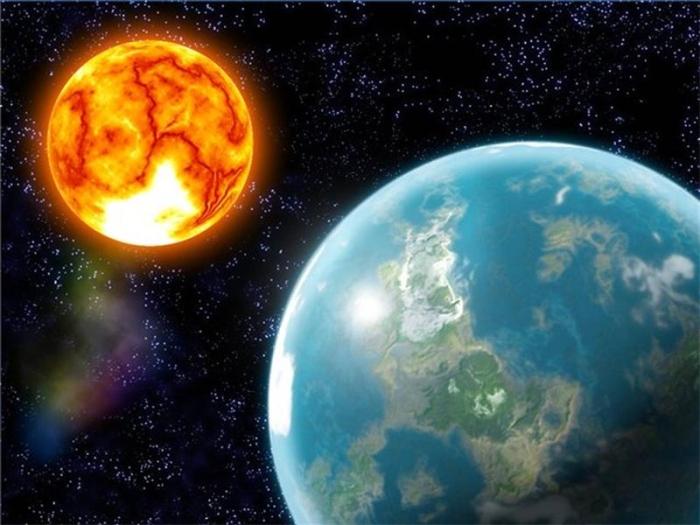 сонце земля