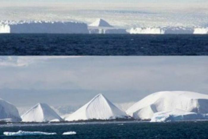 піраміди антарктида