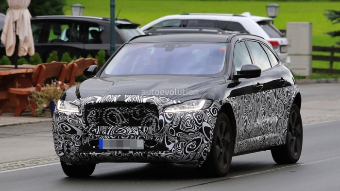 Jaguar Е-Pace на тестах