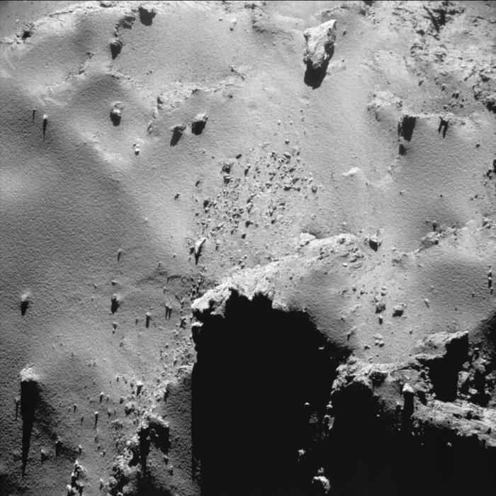 знімок комети Чурюмова-Герасименко
