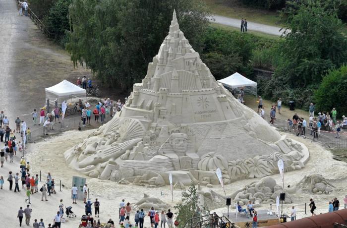 15-метровий замок з піску