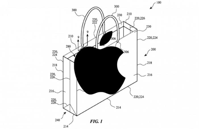Apple запатентувала паперовий пакет