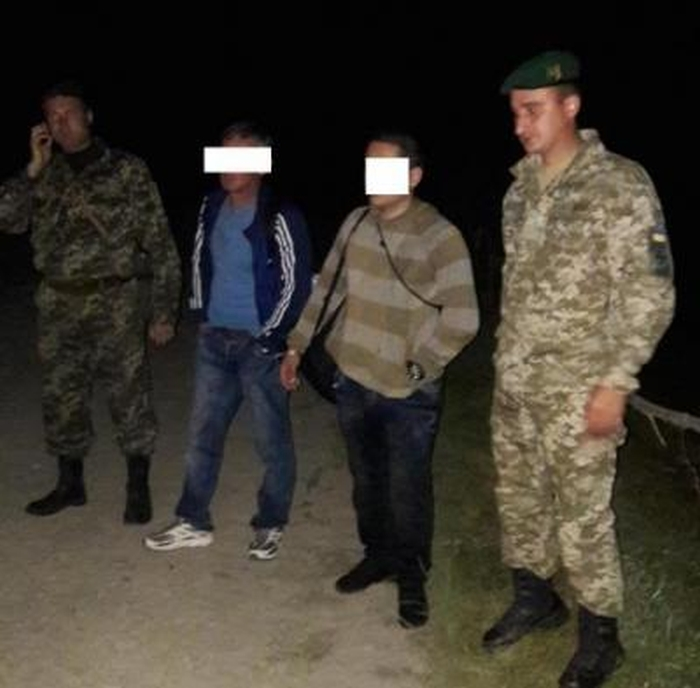 Львівські прикордонники затримали порушників