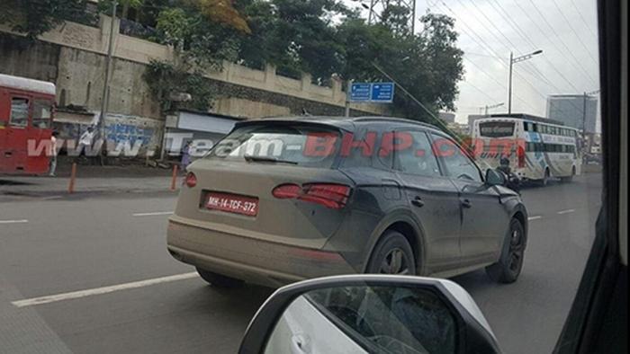 Audi Q5 на тестах в Мумбаї
