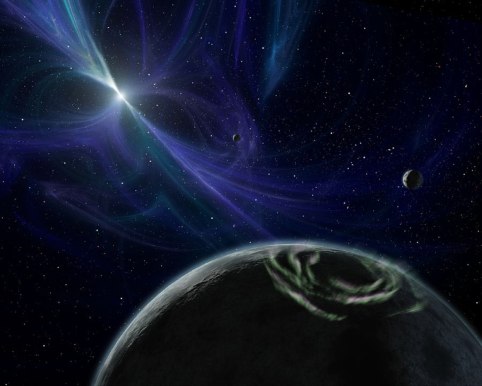 планетна система пульсару PSR B1257+12