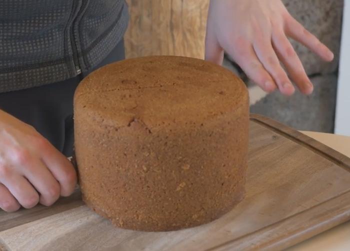 хліб випечений на вулкані