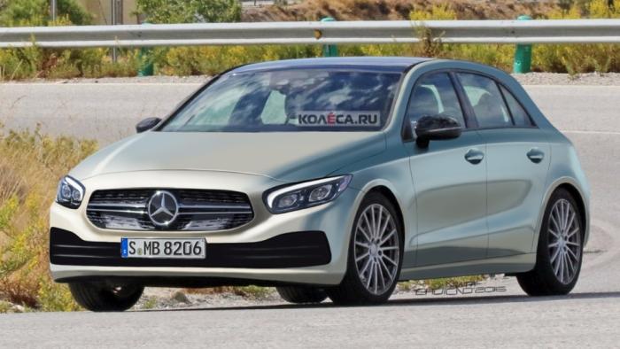 Ймовірний вигляд нового Mercedes-Benz A-класу