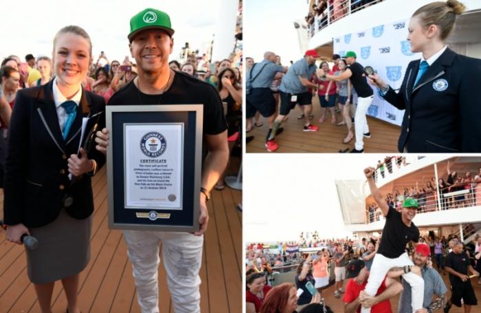 новий світовий рекорд по Селфі