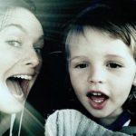 ліна хіді з сином