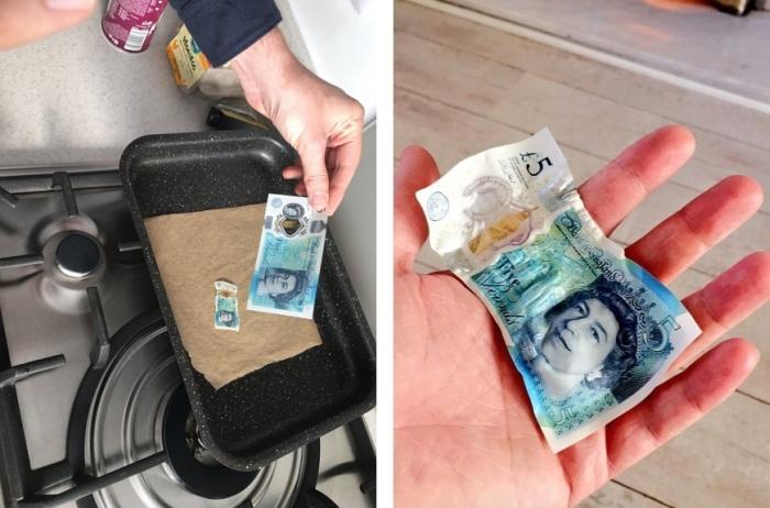 нова банкнота 5 фунтів
