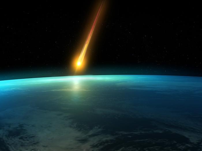 комета земля