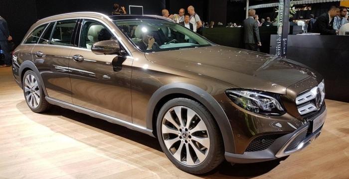 Mercedes-Benz Е-class 4WD