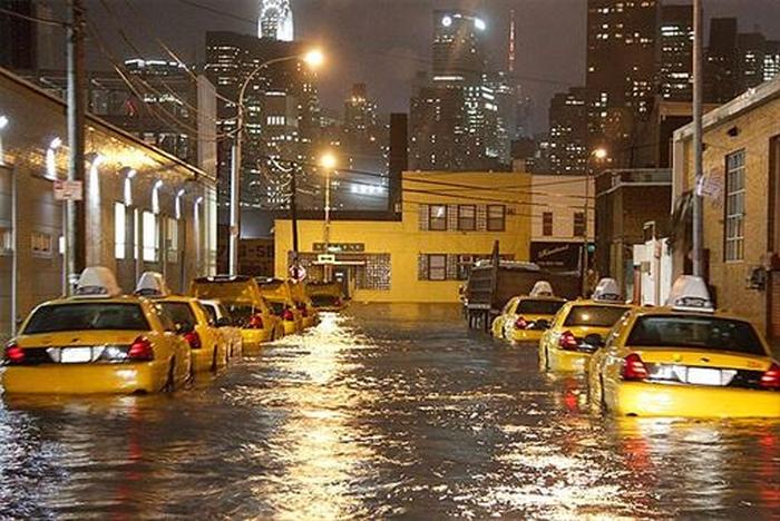 Нью-Йорк потоп