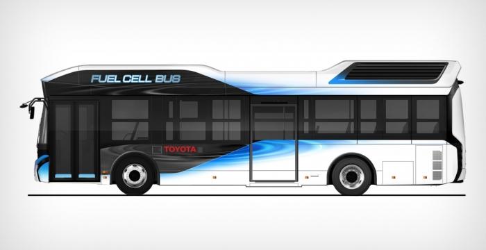 Toyota FC Bus