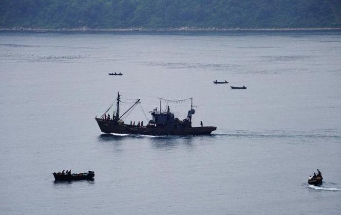 китайське риболовне судно