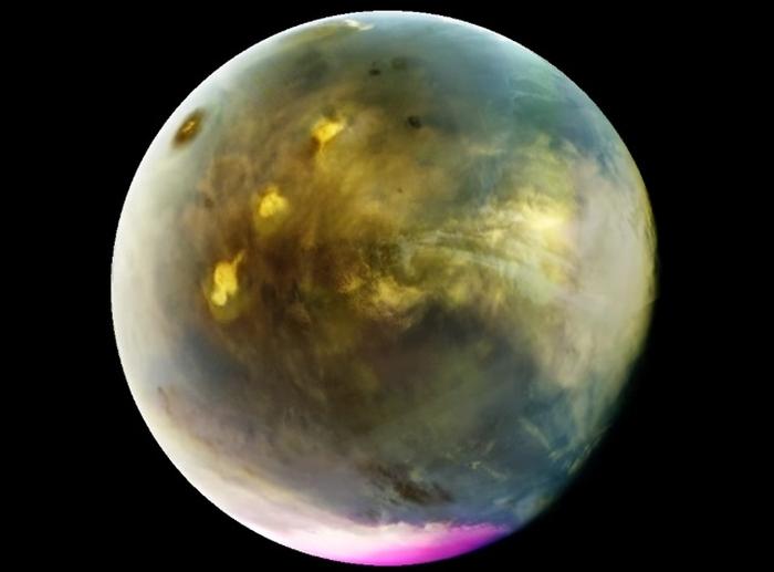 ультрафіолетове світіння Марса