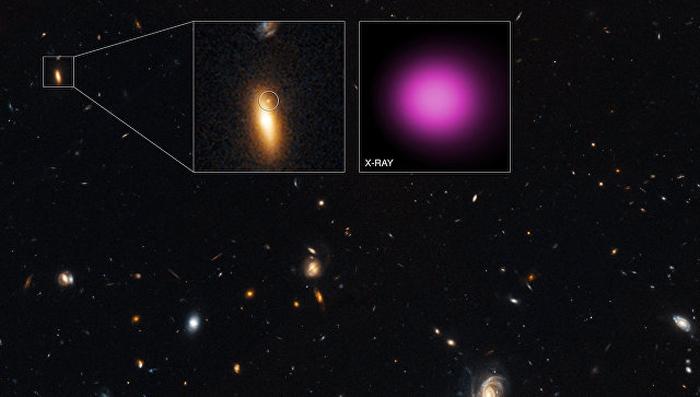 Чорна діра в галактиці GJ1417 + 52